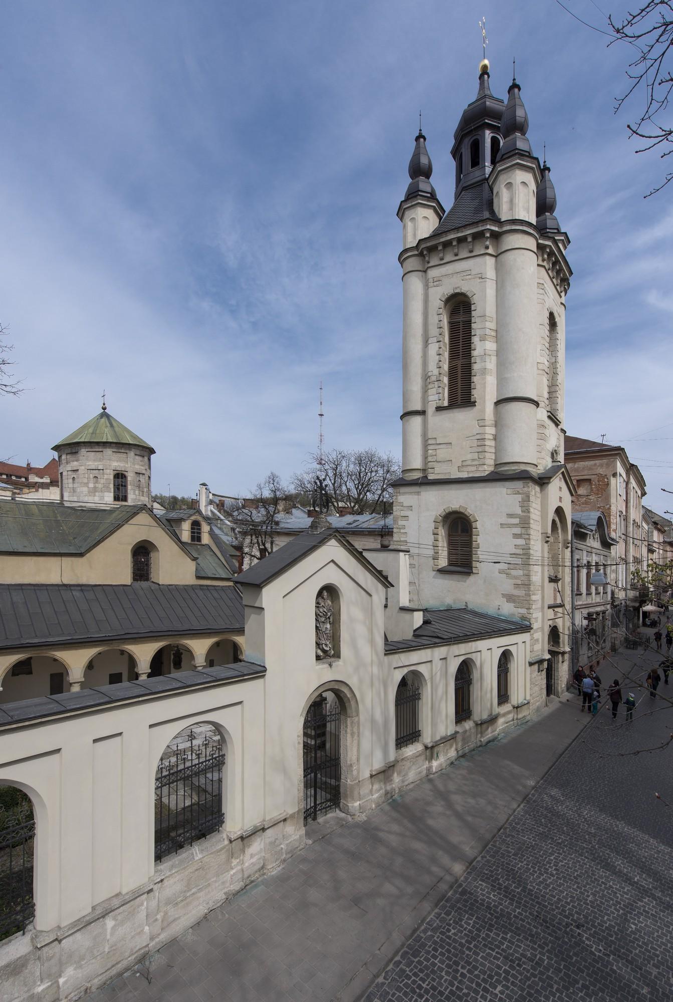 Wieża-dzwonnica przy katedrze ormiańskiej we Lwowie, fot. Paweł Mazur (źródło: materiały prasowe)