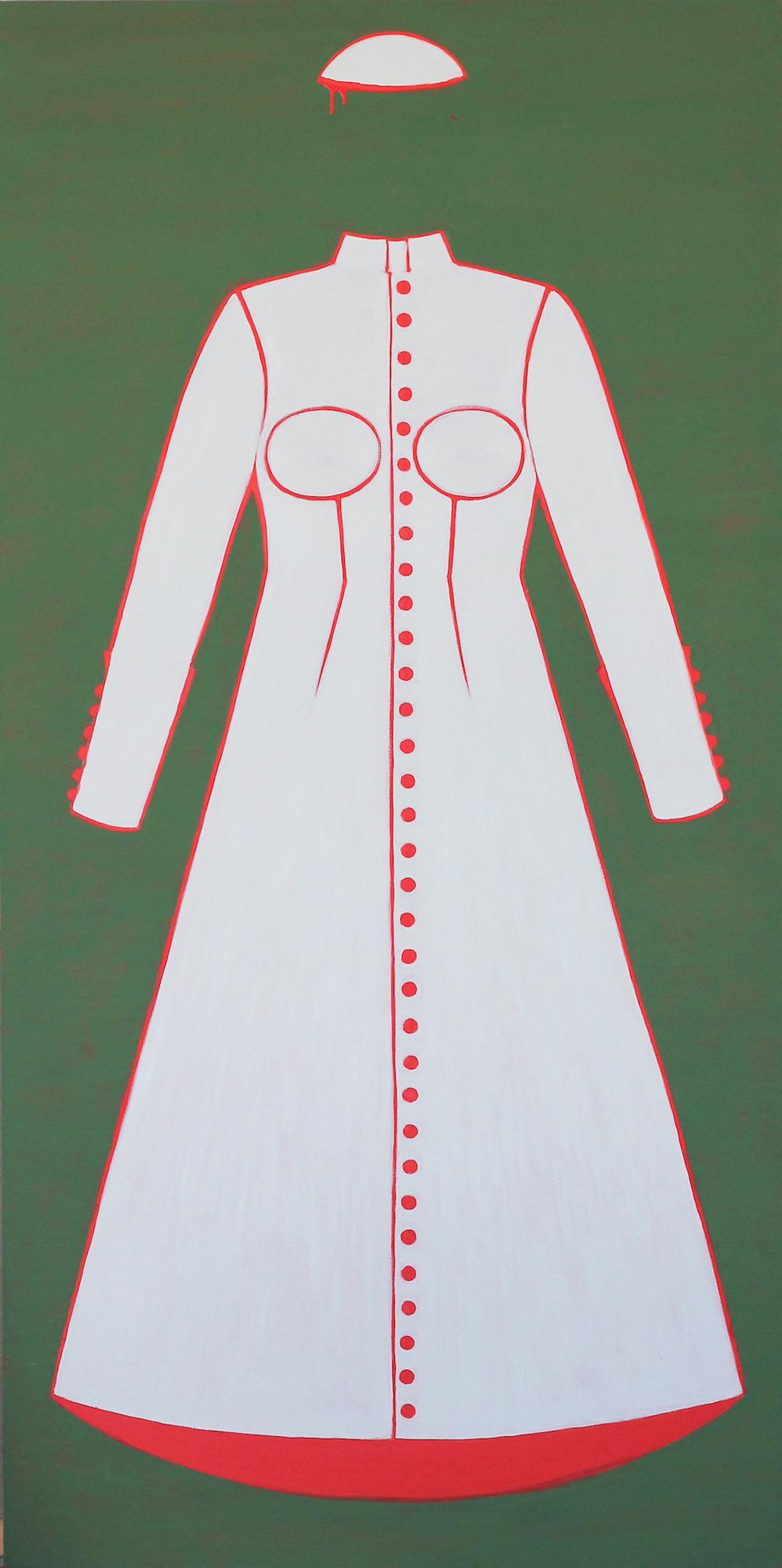 "Iwona Teodorczuk-Możdżyńska, ""Sutanna papieska"", 2015 (źródło: materiały prasowe organizatora)"