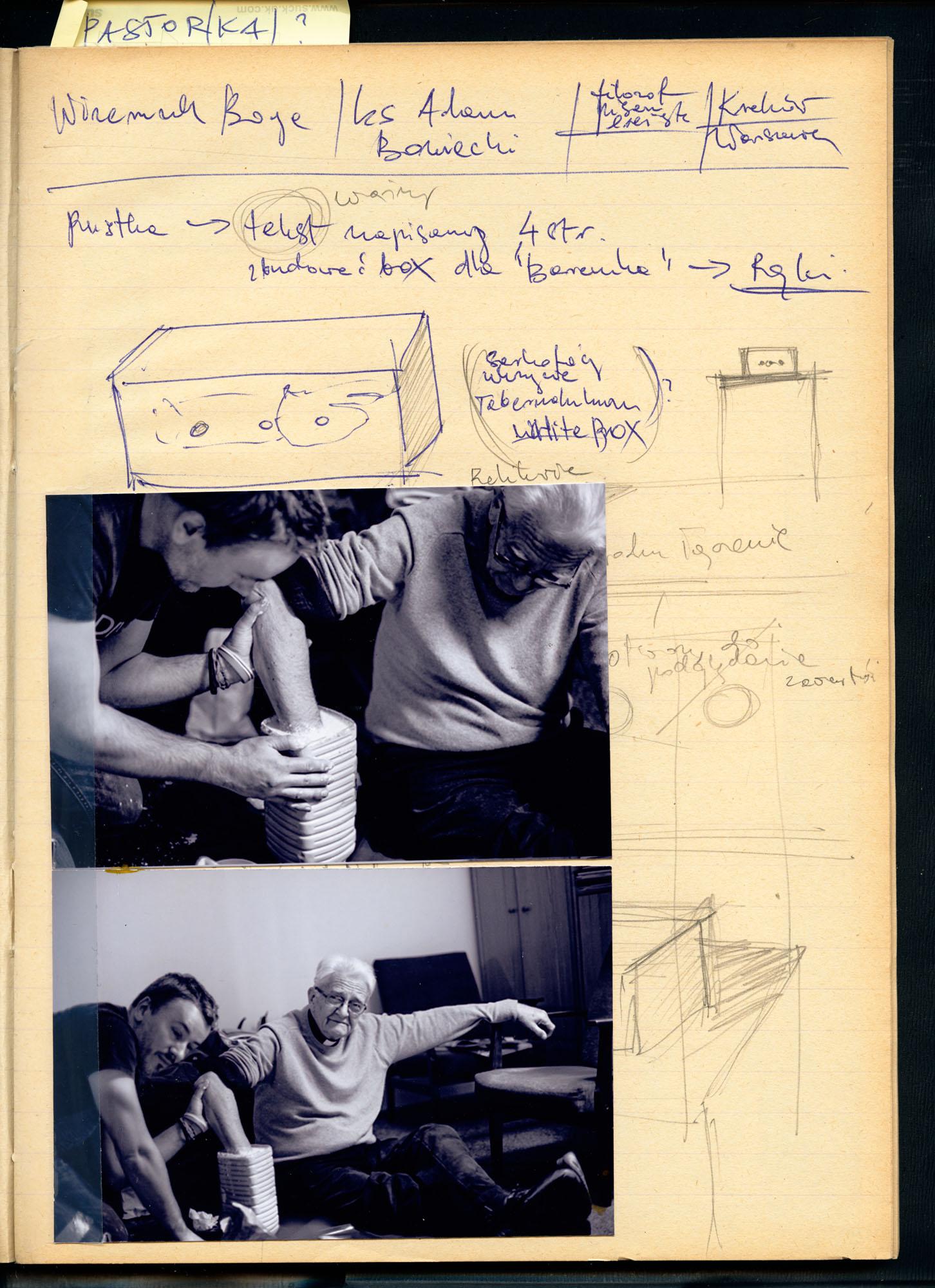 """Tom Swoboda, """"Narysuj mi Boga. Notatnik"""", 2014 (źródło: materiały prasowe)"""