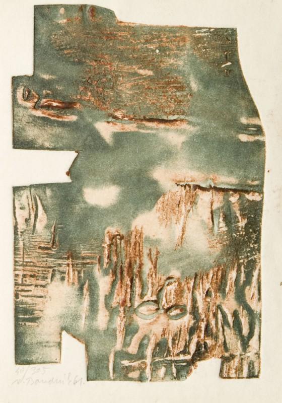 """Vladimir Boudnik, """"Grafika aktywna"""", 1961, własność prywatna (źródło: materiały prasowe organizatora)"""