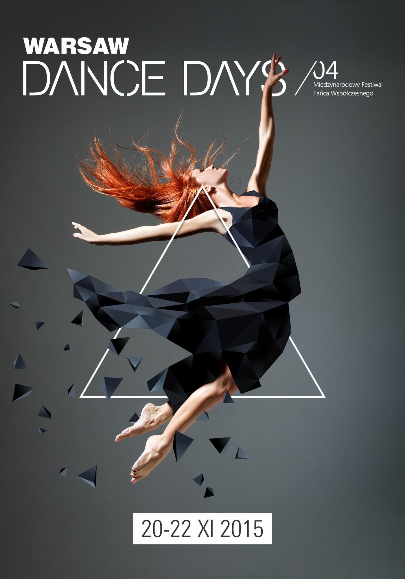 4. Warsaw Dance Days – plakat (źródło: materiały prasowe organizatora)