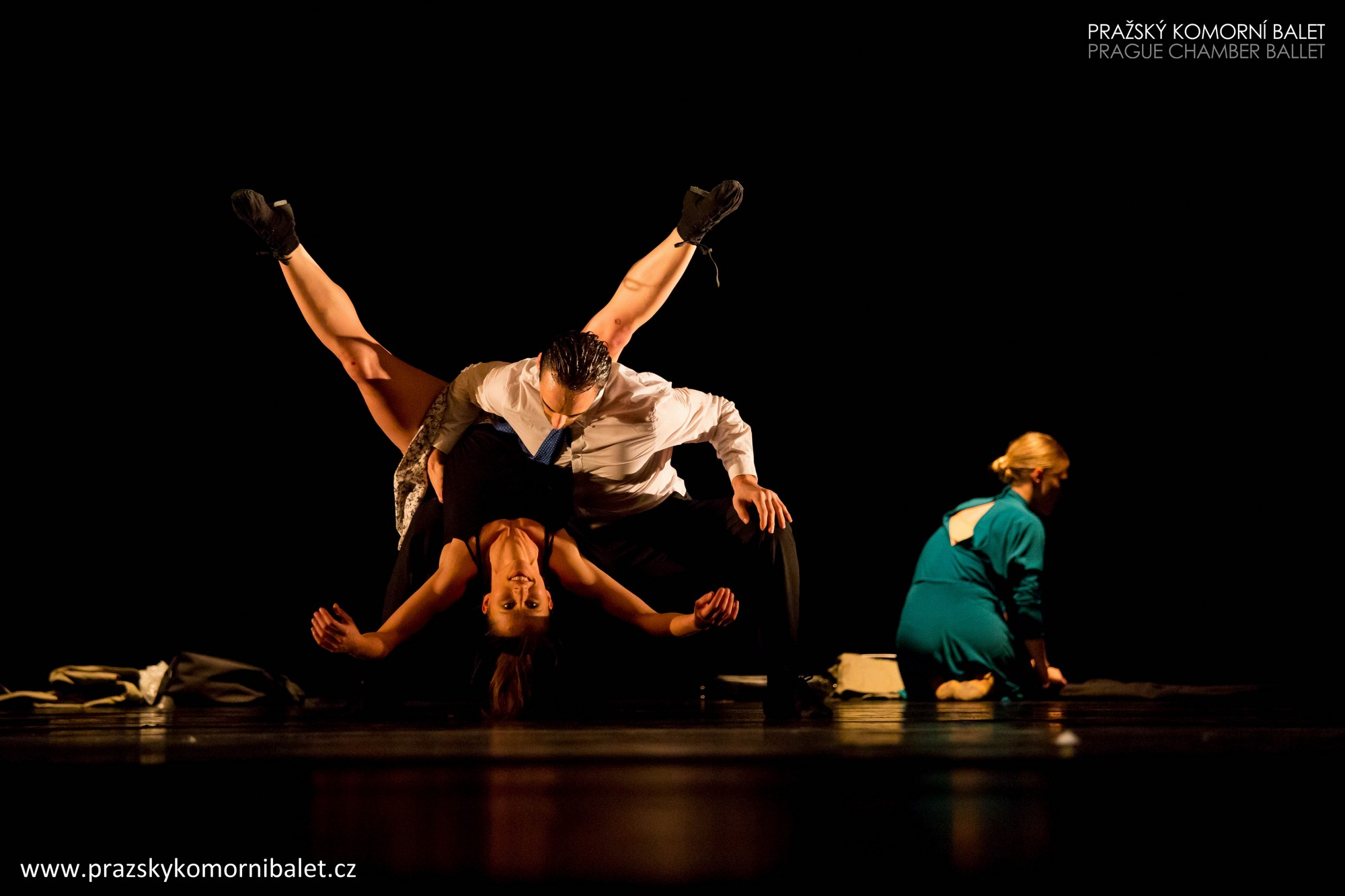 """Silent cry"", Pražský Komorní Balet, fot. Martin Macoun (źródło: materiały prasowe organizatora)"