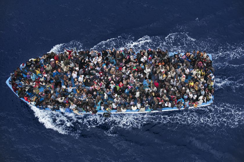 Massimo Sestini, Włochy. 7 lipca, w pobliżu wybrzeża Libii. 2. Nagroda, Wiadomości Ogólne, Zdjęcie pojedyncze (źródło: materiały prasowe)