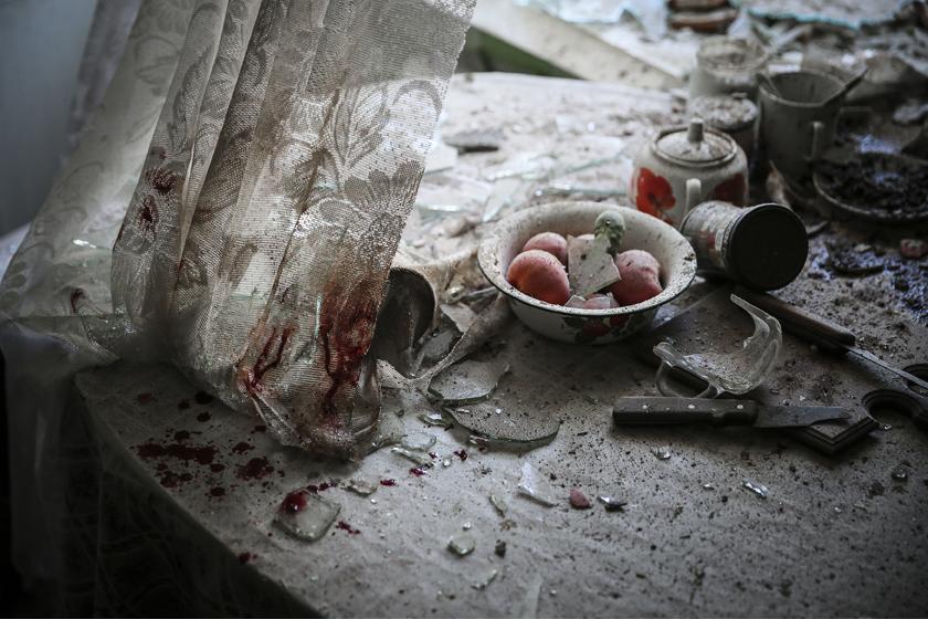 Sergei Ilnitsky, Rosja, European Pressphoto Agency. 26 sierpnia, Donieck, Ukraina. 1. Nagroda, Wiadomości Ogólne, Zdjęcie pojedyncze (źródło: materiały prasowe)