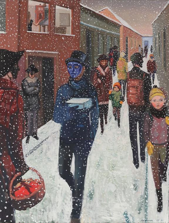 """Katarzyna Karpowicz, """"Ostatni śnieg w Budapeszcie"""", 2015 (źródło: materiały prasowe)"""