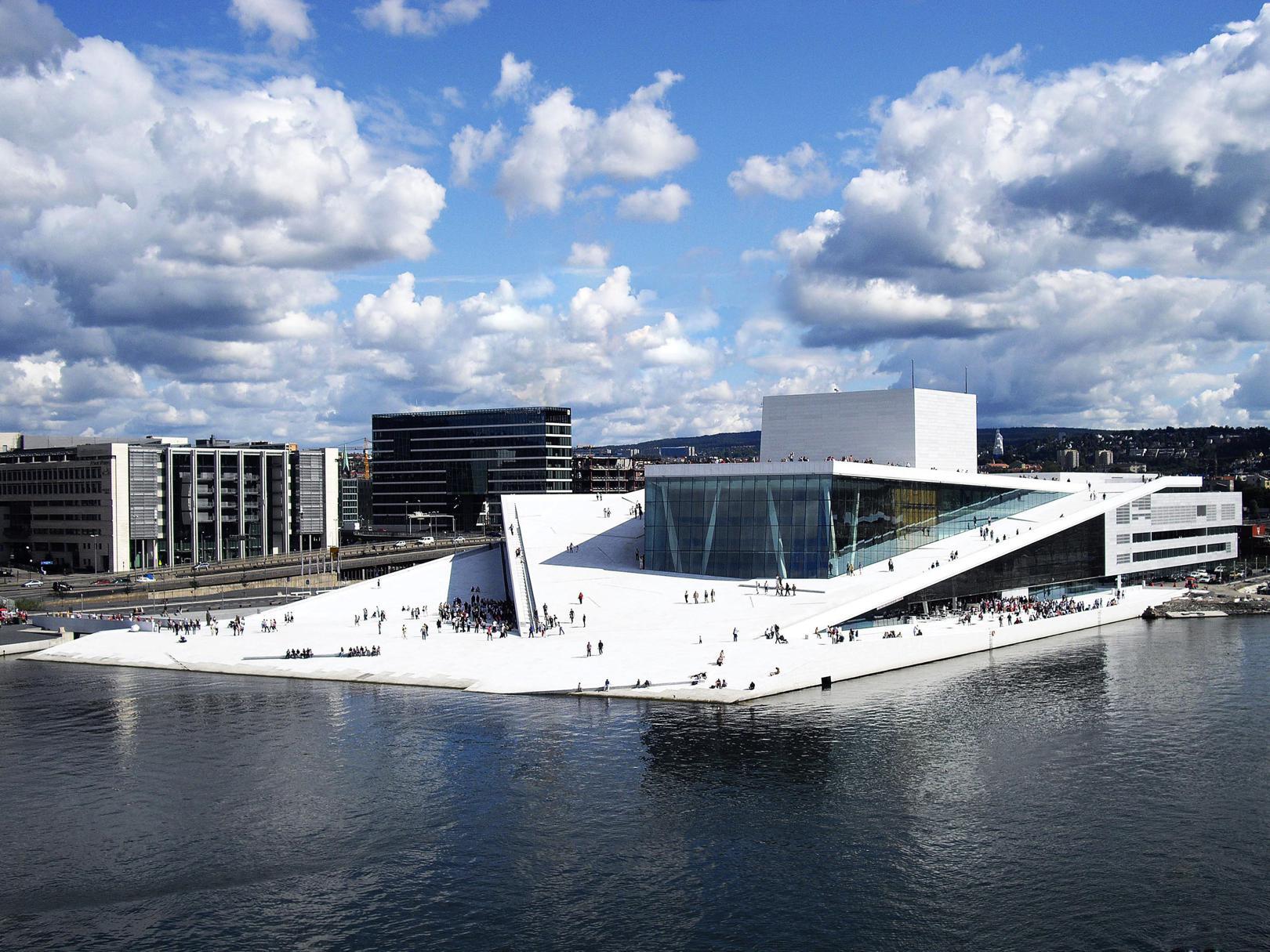 Snøhetta, Opera w Oslo, Nagroda Unii Europejskiej w dziedzinie architektury współczesnej – Mies van der Rohe Award, 2009 (źródło: materiały prasowe organizatora)