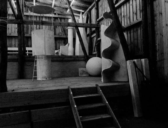 """Inge Mahn, """"Museum Groß Fredenwalde"""", widok instalacji stałej, dzięki uprzejmości artystki. Fot: Inge Mahn (źródło: materiały prasowe organizatora)"""