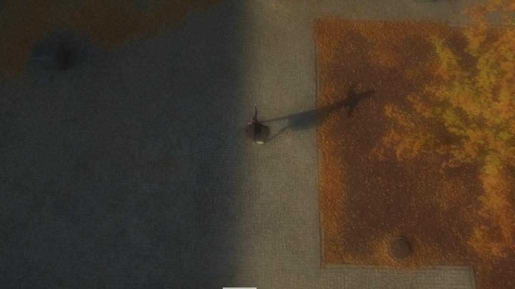"""Zuzanna Janin, """"Taniec jako urządzenie mapujące (Miasto. Dron)"""", 2015, wideo 10', pętla, fot. Zuzanna Janin Studio, Warszawa (źródło: materiały organizatora)"""