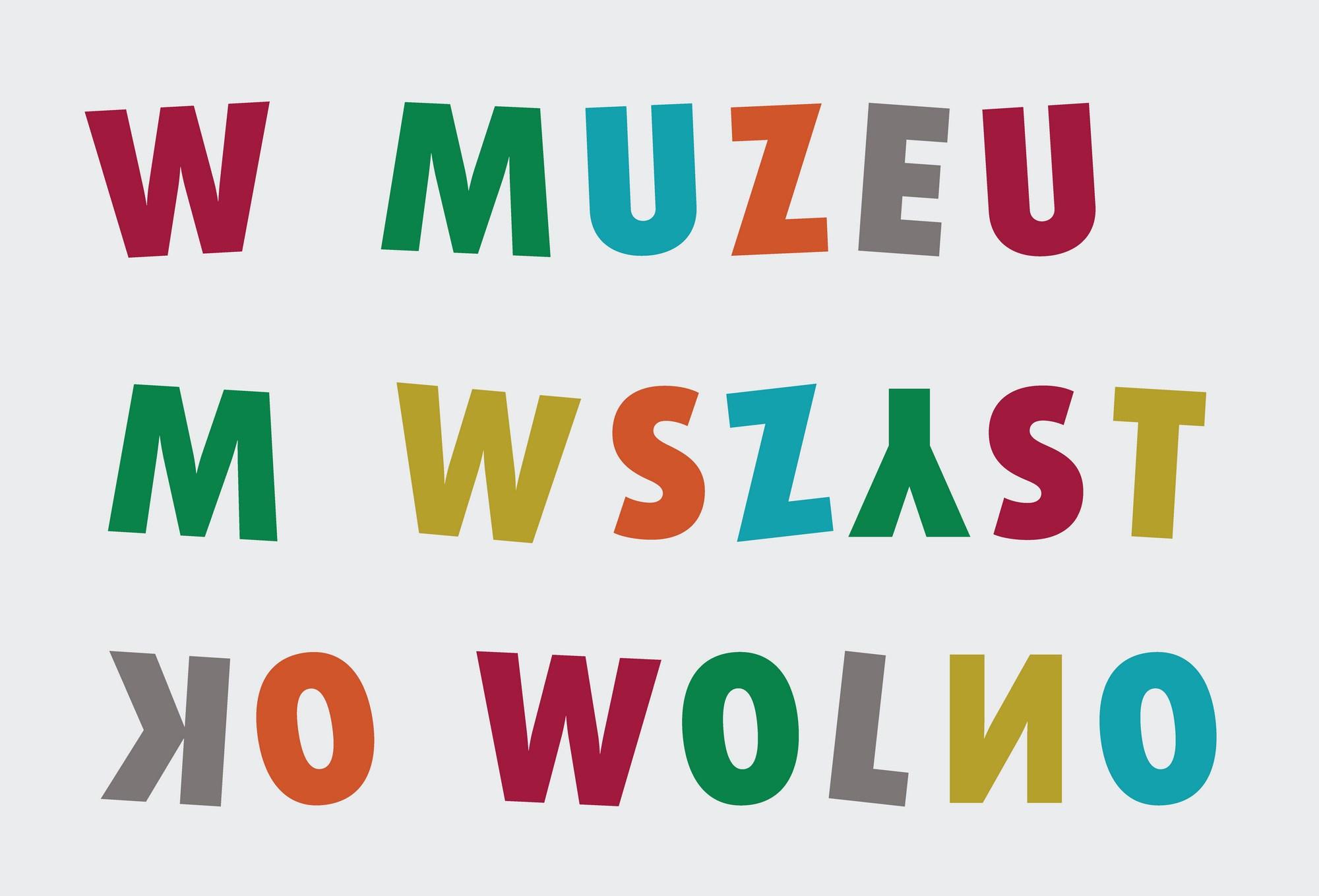 """""""W Muzeum wszystko wolno"""" – plakat (źródło: materiały prasowe organizatora)"""