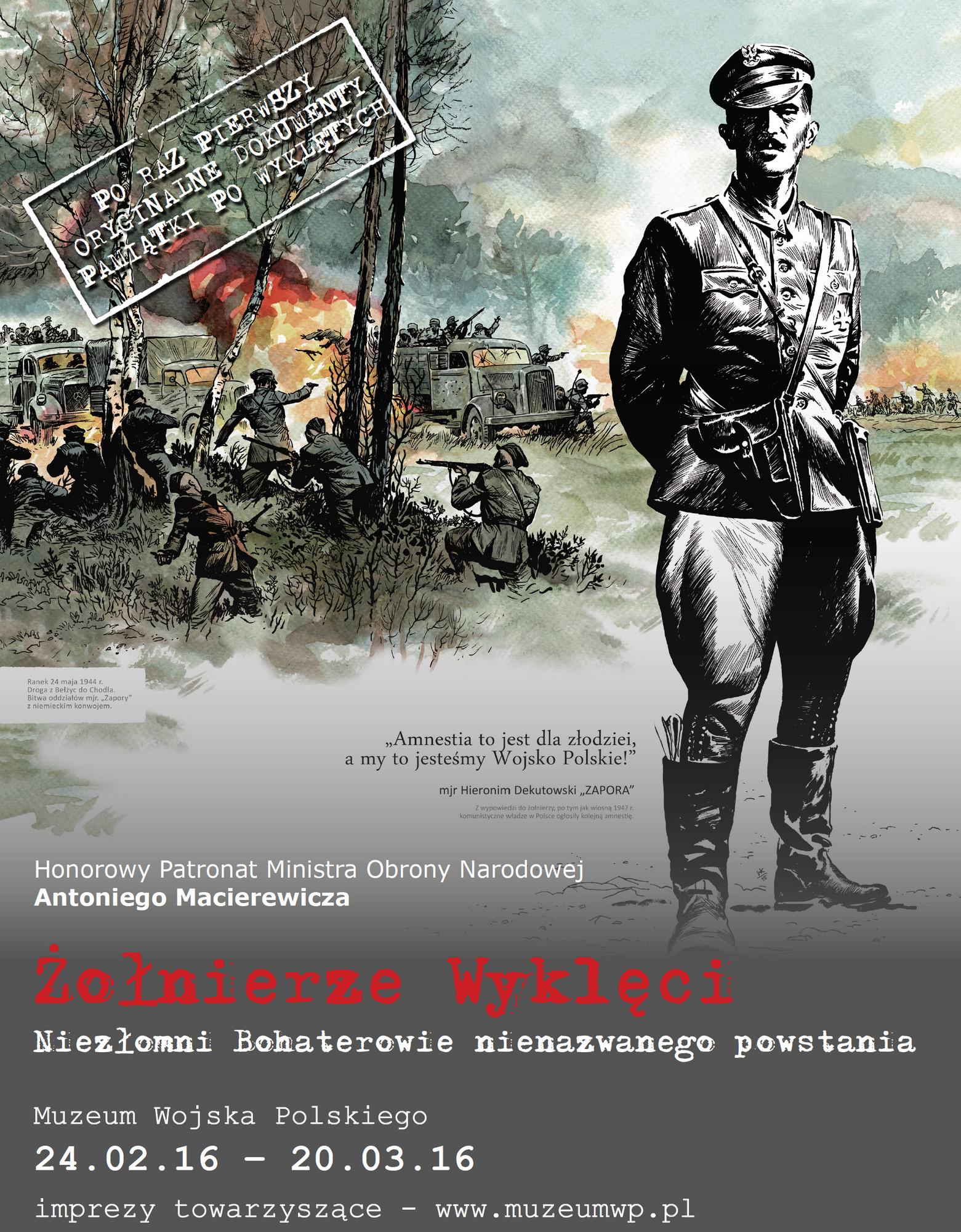 Obchody Dnia Pamięci Żołnierzy Wyklętych – plakat (źródło: materiały prasowe)
