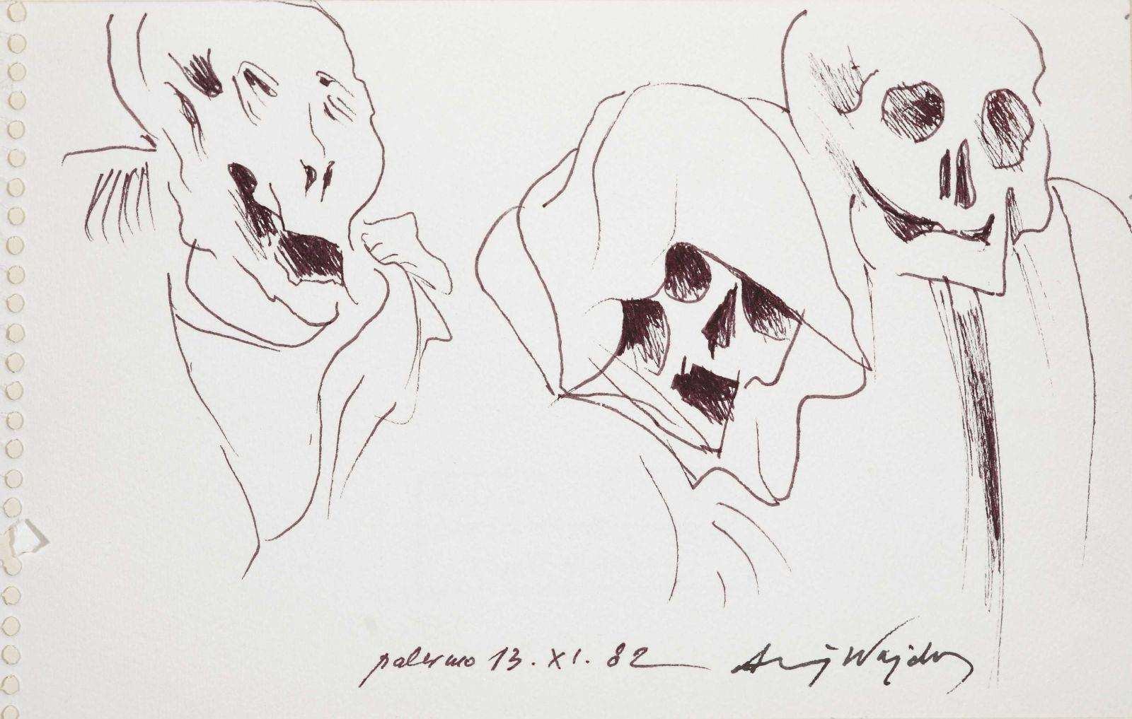 Rys. Andrzej Wajda (źródło: materiały prasowe organizatora)