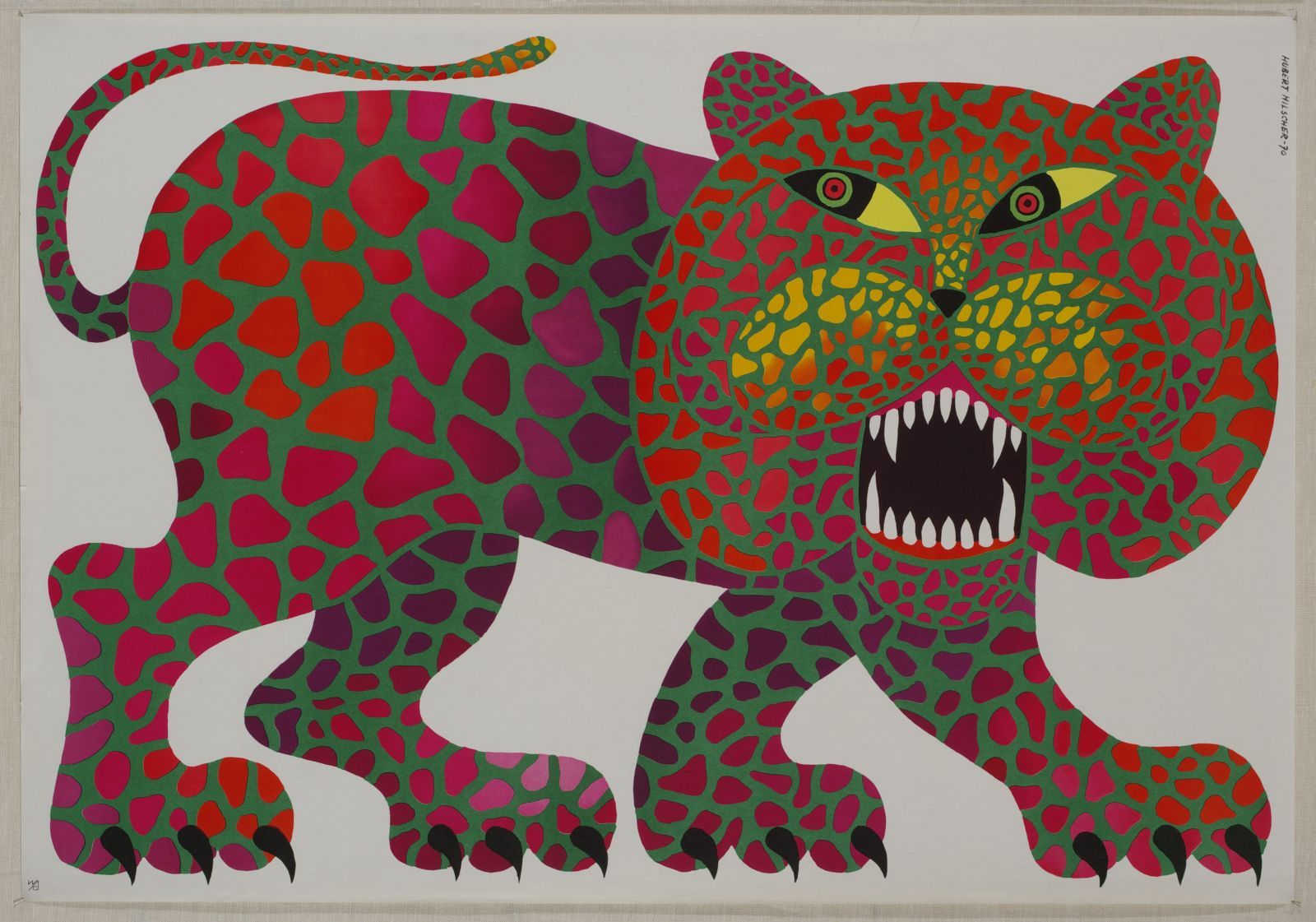 "Hubert Hilscher, ""Lampart"", 1970 (źródło: materiały prasowe organizatora)"