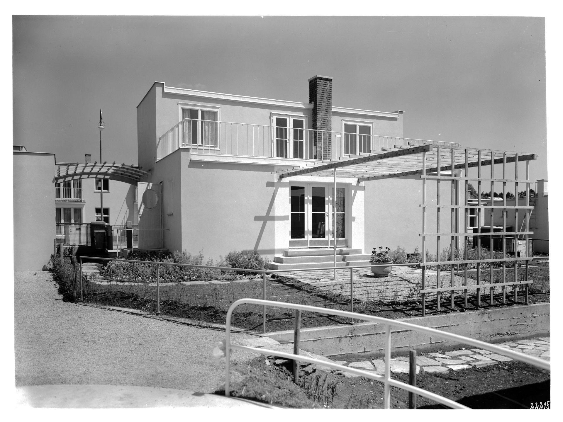 Dom projektu Josefa Franka, 1932 © Architekturzentrum Wien, Sammlung, Zdjęcie: Julius Scherb (źródło: materiały prasowe organizatora)