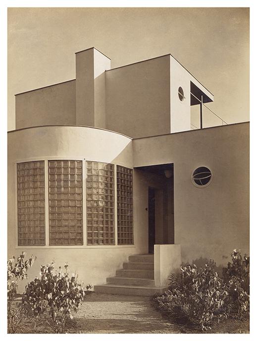 Dom nr 35, dom jednorodzinny, wejście od ulicy, proj. Heinrich Lauterbach © Muzeum Architektury we Wrocławiu, MAt IIIb-1032/2 (źródło: materiały prasowe organizatora)