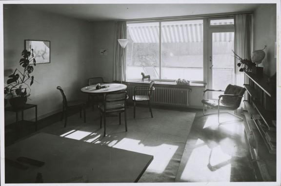 Aneks jadalny w budynku typu N, fot. Grete Hubacher ©gta Archives/ETH Zurich (holding Haefeli, Moser, Steiger) (źródło: materiały prasowe organizatora)