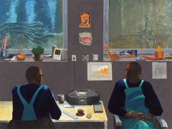 """Jarosław Modzelewski, """"Stereo (parapet lewy, parapet prawy"""", 2010, fot. Agata i Erazm Ciołek, dzięki uprzejmości Galerii aTAK (źródło: materiały prasowe organizatora)"""