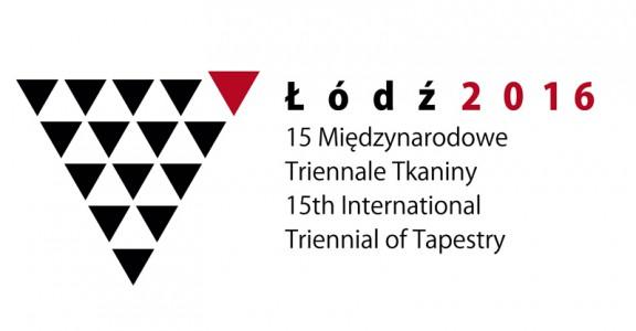 """""""15. Międzynarodowe Triennale Tkaniny"""" – logo (źródło: materiały prasowe organizatora)"""