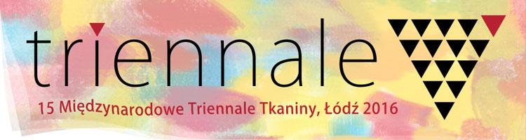 """""""Międzynarodowe Triennale Tkaniny"""" – logo (źródło: materiały prasowe organizatora)"""