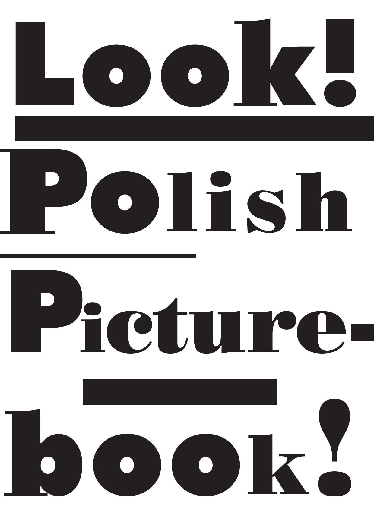 """""""Look! Polish picturebook!"""" – logotyp (źródło: materiały prasowe)"""