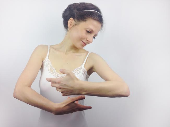 """Małgorzata Dawidek, """"Bodygraphy"""" (źródło: materiały prasowe organizatora)"""
