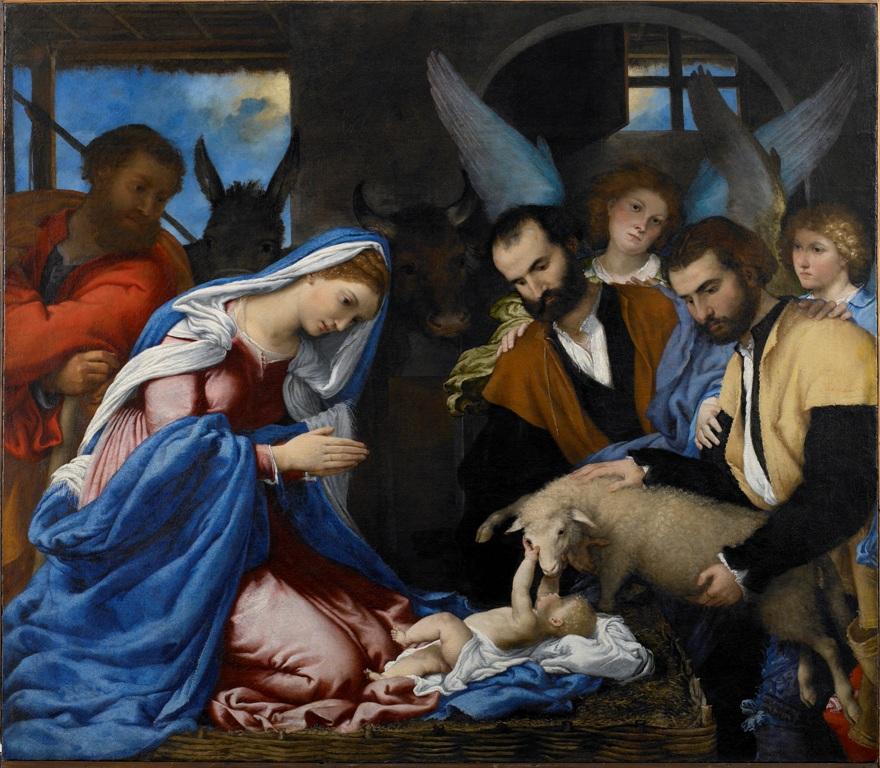 """""""Brescia. Renesans na północy Włoch. Moretto – Savoldo – Moroni. Rafael – Tycjan – Lotto"""" (źródło: materiały muzeum)"""
