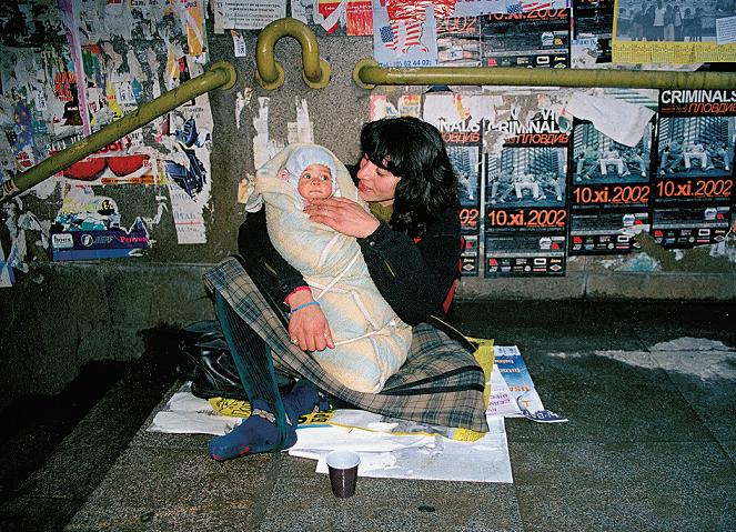 "Alla Georgieva, ""Uliczne matki"", 2001–2011, fotografia (źródło: materiały prasowe organizatora)"
