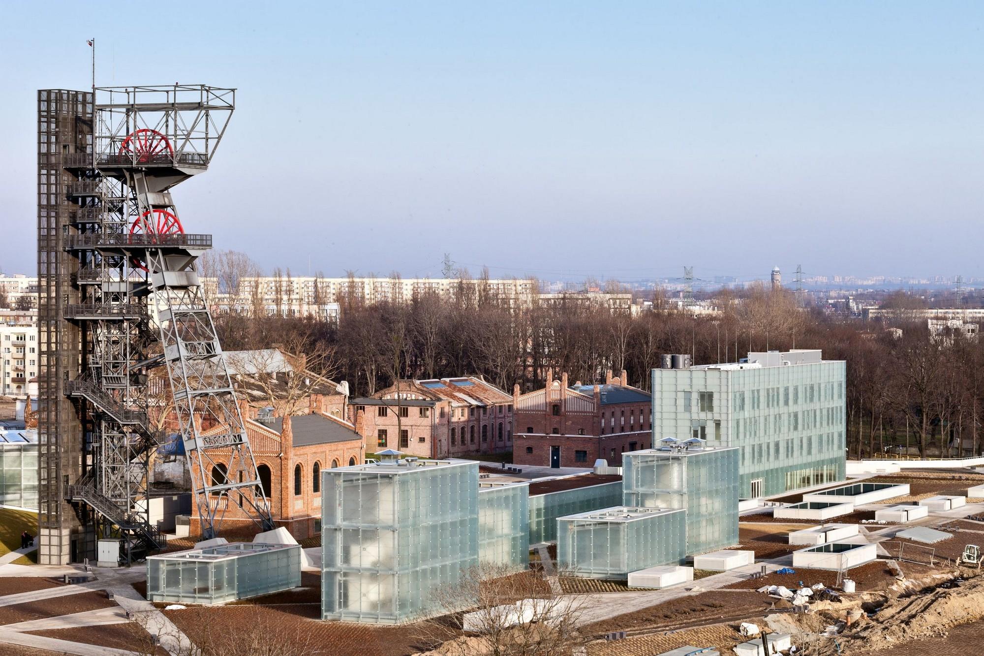 """Nowe Muzeum Śląskie w Katowicach (autorzy: Riegler Riewe Architekten). Fot. """"Architektura-murator"""" / M. Czechowicz (źródło: materiały prasowe)"""