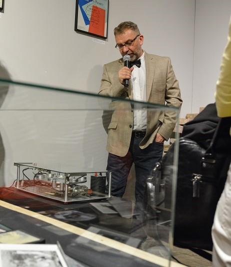 """""""Andy Warhol. 33 1/3"""" – wernisaż, fot. Łukasz Kolewiński (źródło: materiały prasowe organizatora)"""