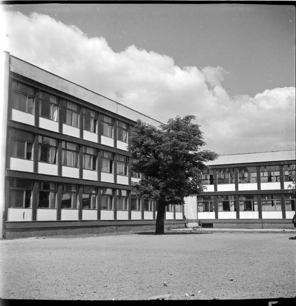 Szkoła Podstawowa nr 71 przy Podwalu, projekt 1955-56, realizacja 1958-60, fot. Tomasz Olszewski, Muzeum Architektury (źródło: materiały prasowe organizatora)