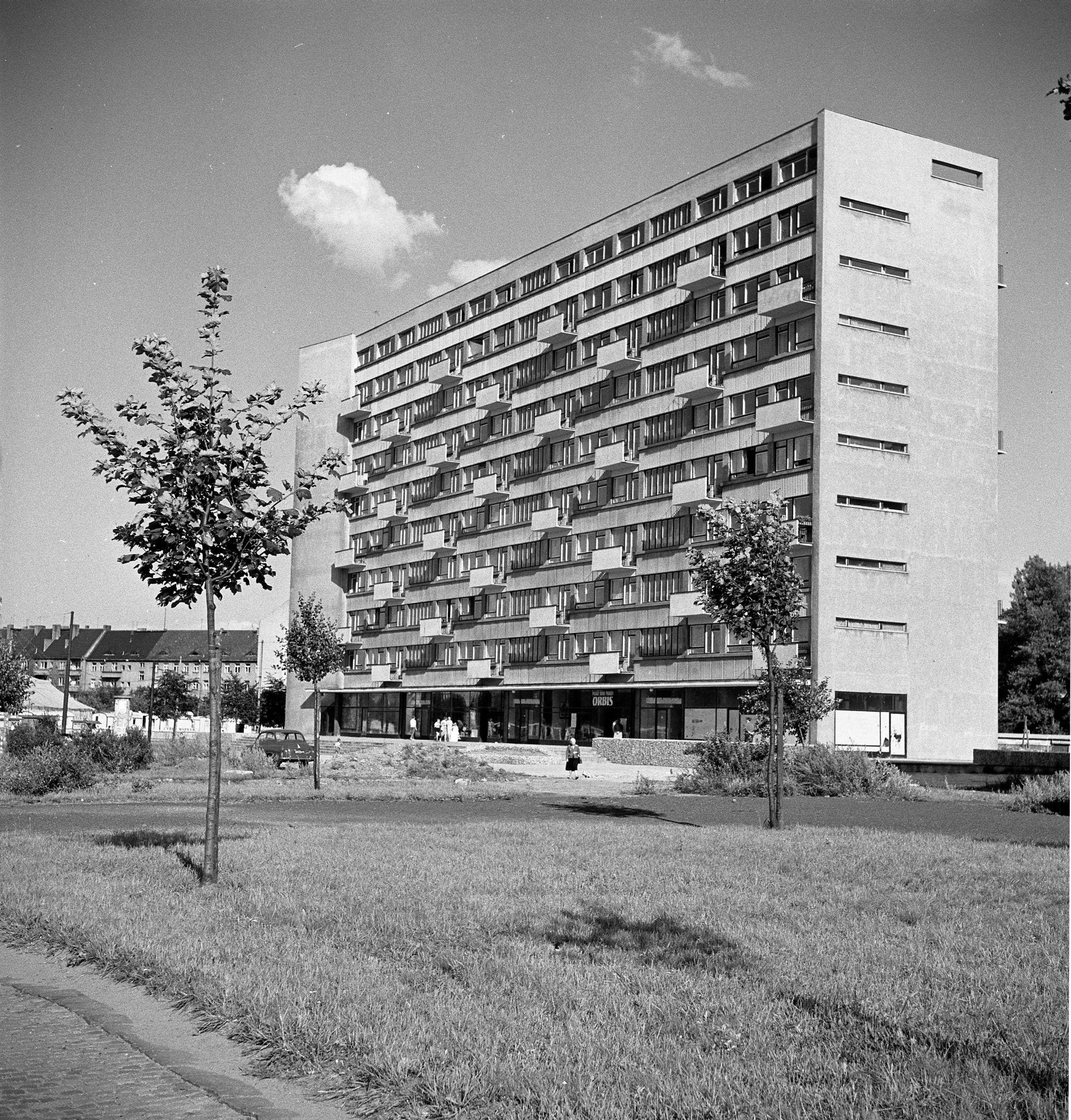 Dom Naukowca przy placu Grunwaldzkim, 1959–1961, projekt 1956, fot. Tomasz Olszewski, zbiory: Muzeum Miejskie Wrocławia (źródło: materiały prasowe organizatora)