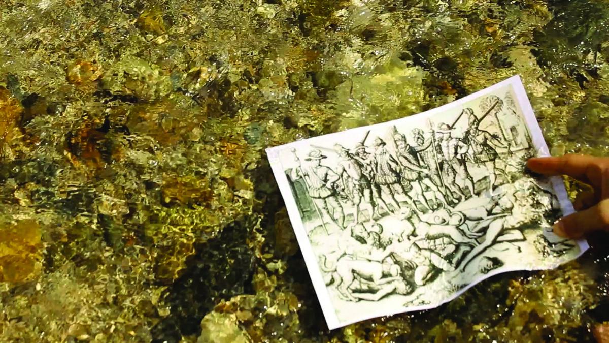 """Carlos Motta, """"The Nefandus Trilogy: Nefandus"""", wideo HD, 13 min. 14 sek. © Muzeum Współczesne Wrocław (źródło: materiały prasowe organizatora)"""