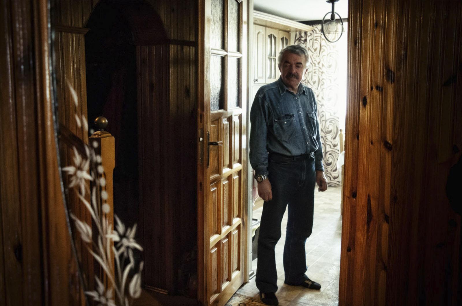 Janusz Gregorczyk w swoim domu, Radom, 11 marca 2014 roku (źródło: materiały prasowe organizatora)
