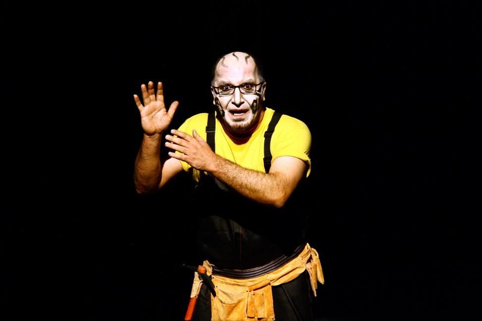 "Arash Dadgar, ""Hamlet"" (źródło: mat. pras. organizatora)"