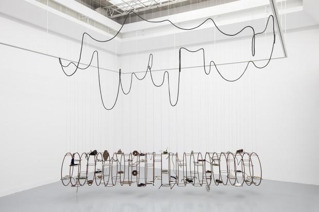 """Iza Tarasewicz, """"Arena 2"""", 2014–16, instalacja (źródło: materiały prasowe organizatora)"""
