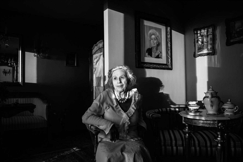 """Magdalena Wdowicz-Wierzbowska, z cyklu """"Po prostu męża mi brakuje"""" (źródło: materiały prasowe organizatora)"""