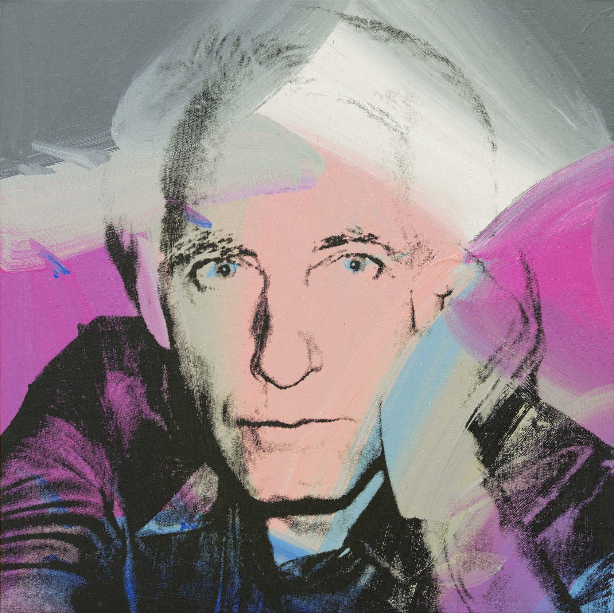 """Andy Warhol, """"Erich Marx"""", 1978, © 2016 The Andy Warhol Foundation for the Visual Arts, Inc. / Artists Rights Society (ARS), New York, © bpk/Nationalgalerie im Hamburger Bahnhof, SMB, Sammlung Marx. Zdjęcie: Jens Ziehe (źródło: materiały prasowe organizatora wystawy)"""