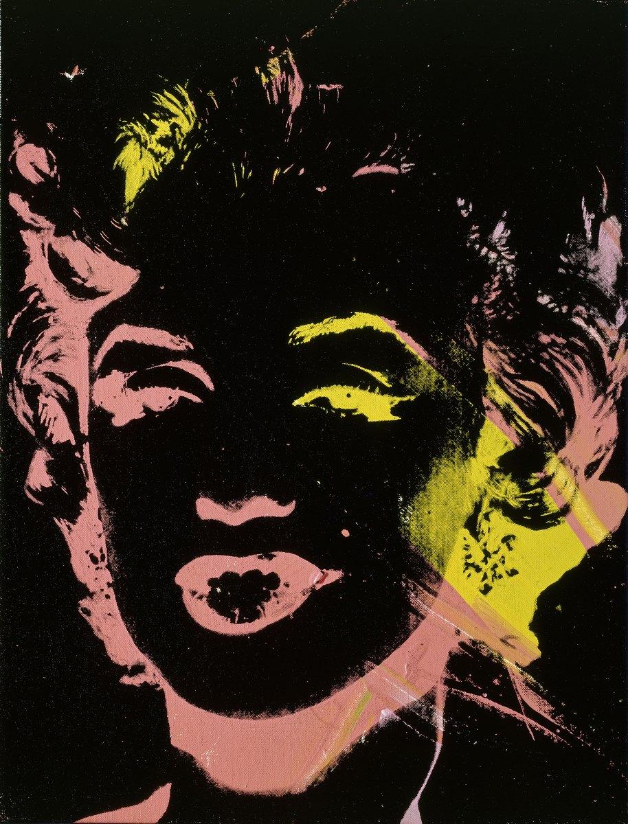"Andy Warhol, ""Multicolored Marilyn"", 1979–1986, © 2016 The Andy Warhol Foundation for the Visual Arts, Inc. / Artists Rights Society (ARS), New York, © bpk/Nationalgalerie im Hamburger Bahnhof, SMB, Sammlung Marx. Zdjęcie: Jochen Littkemann (źródło: materiały prasowe organizatora wystawy)"