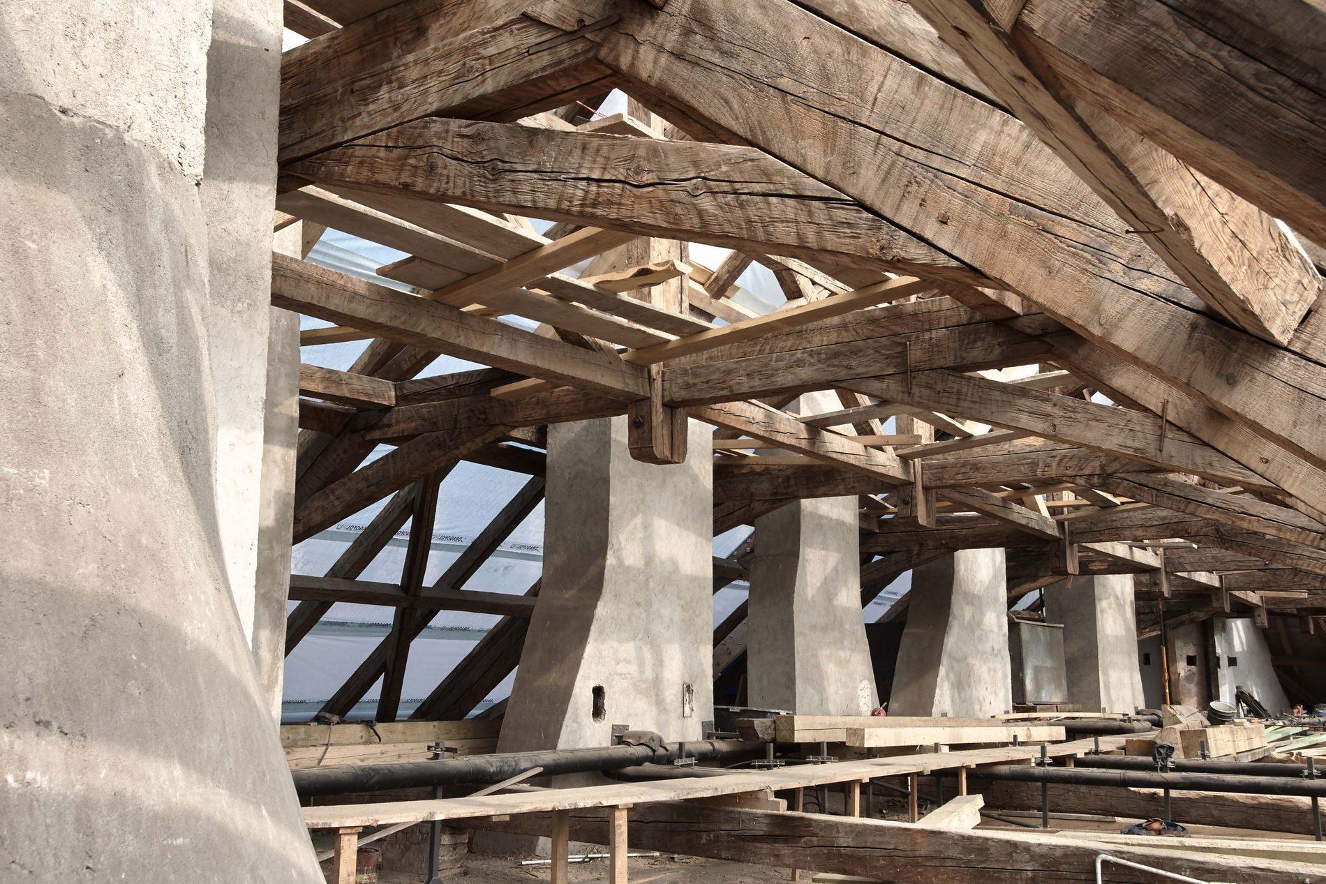 Prace remontowe (źródło: materiały prasowe organizatora)
