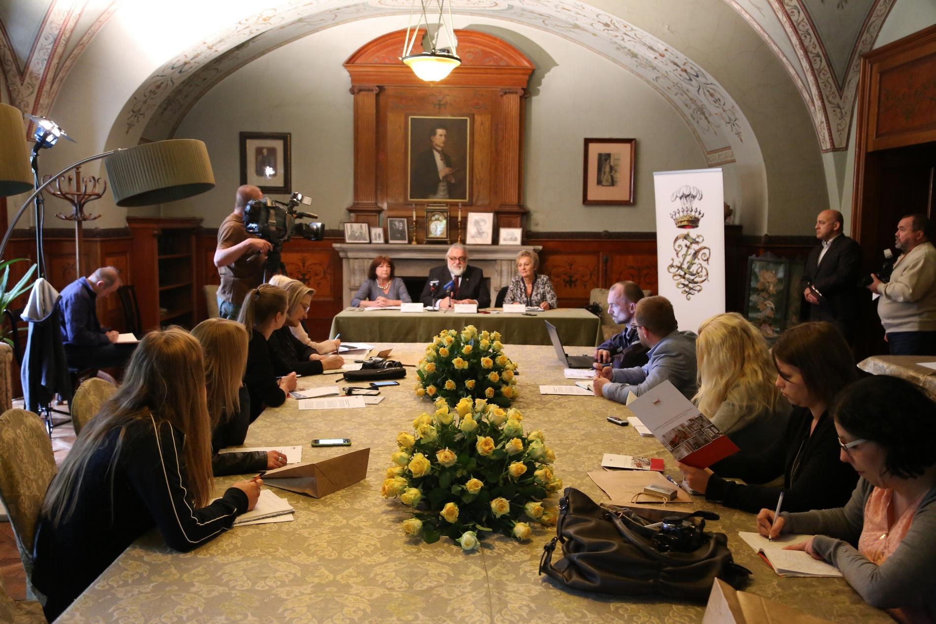Konferencja prasowa (źródło: materiały prasowe organizatora)