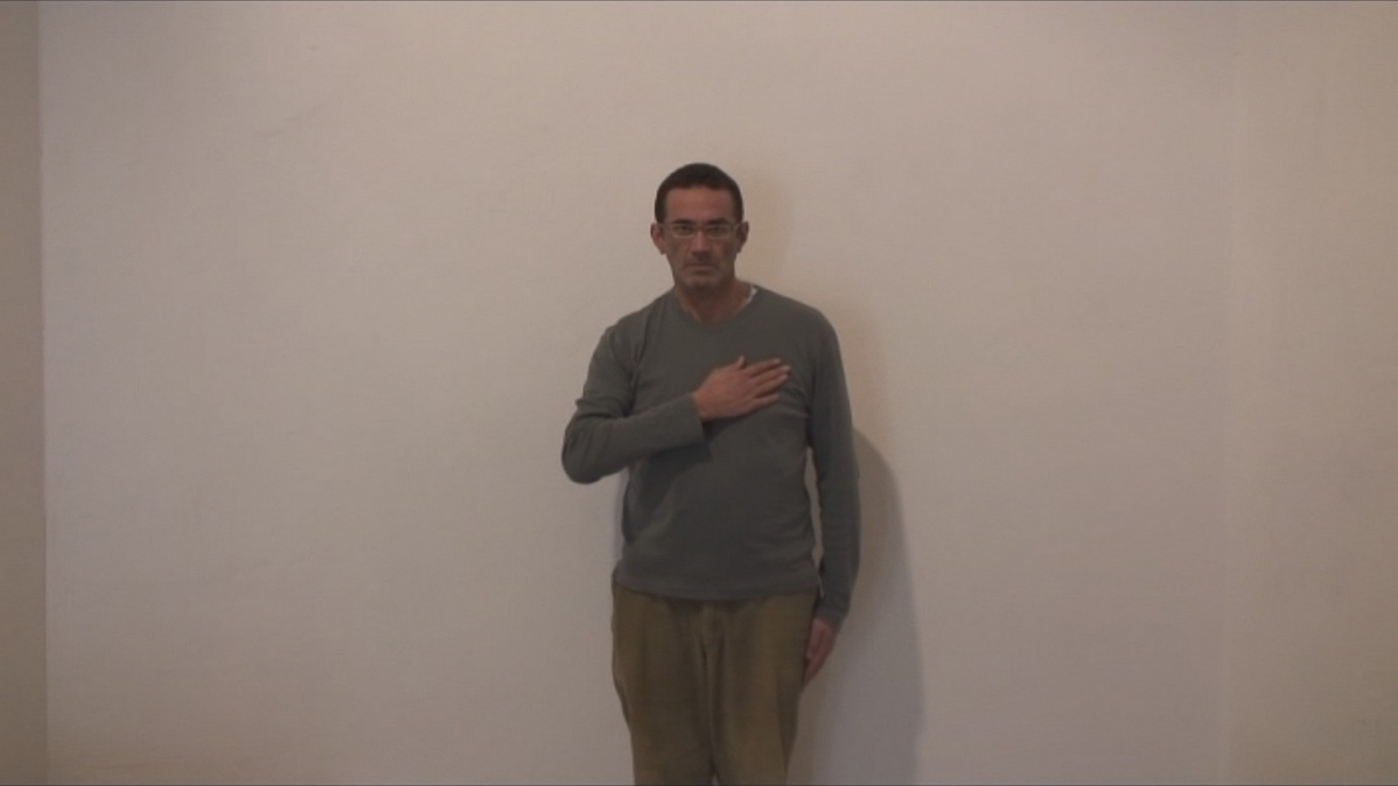 """Tojl Slaven, """"Patriota"""", 2007, film DVD (źródło: materiały prasowe organizatora wystawy)"""
