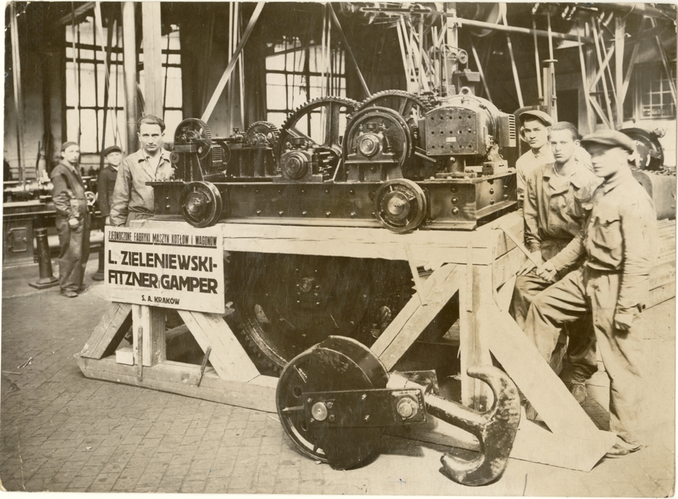 Zjednoczone Fabryki Maszyn, Kotłów i Wagonów, ok. 1930 r. (fot.: nieznany, źródło: mat. pras. organizatora)