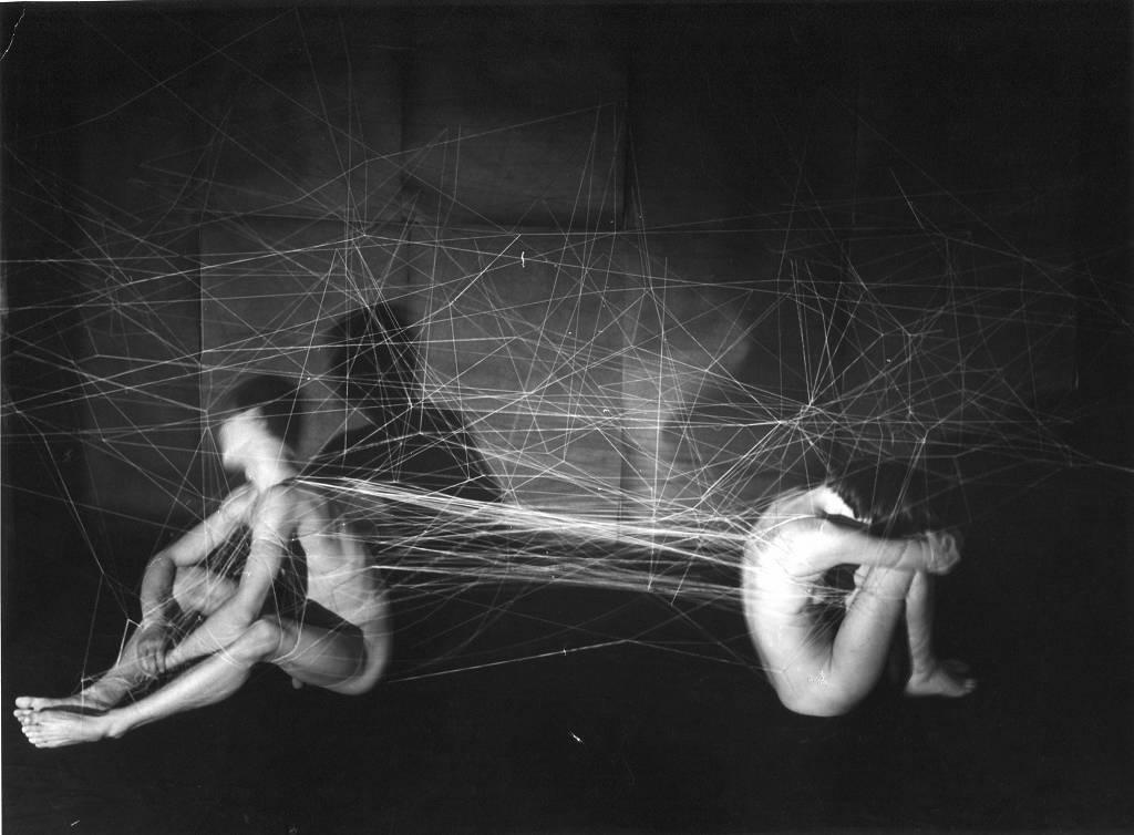 """Krzysztof Jung, """"Miłość (Czesławowi Furmankiewiczowi)"""", 1978, fot. K. Jung, G. Kowalski Archiwum Repassage, Muzeum Akademii Sztuk Pięknych w Warszawie (źródło: materiały prasowe organizatora)"""