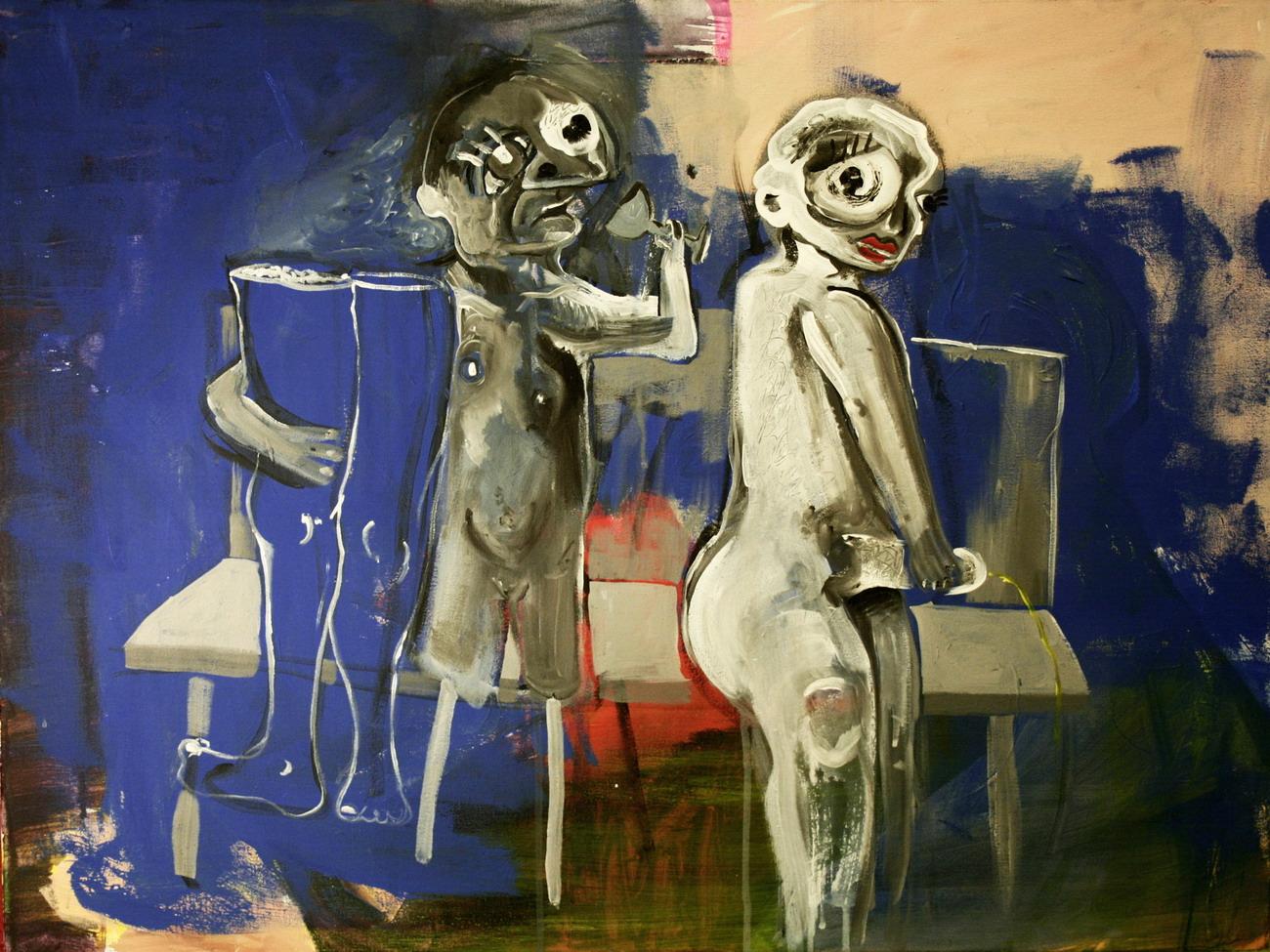 """Mirela Bukala, """"Tylko ja mam cień"""" (źródło: materiały prasowe organizatora)"""