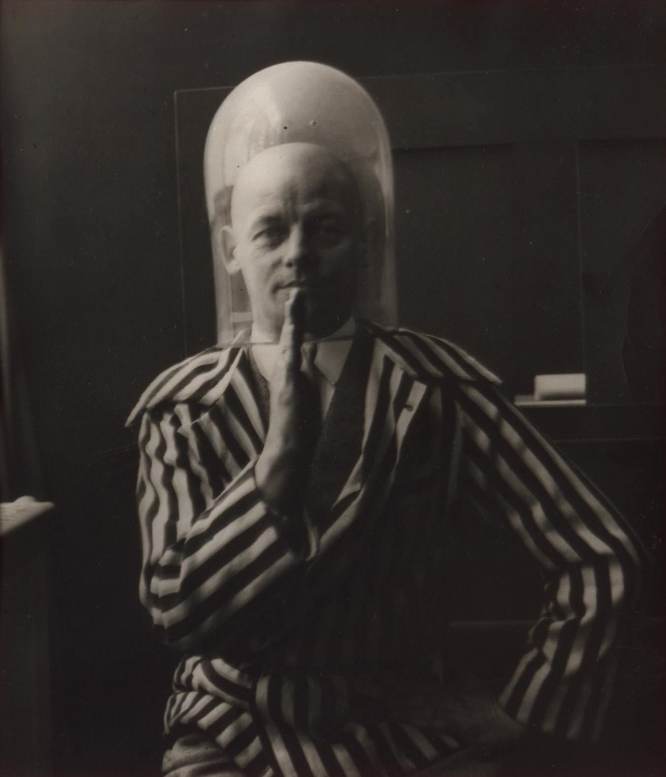 """""""Portret Oskara Schlemmera"""", wł. Bauhaus-Archiv Berlin (źródło: materiały prasowe organizatora)"""