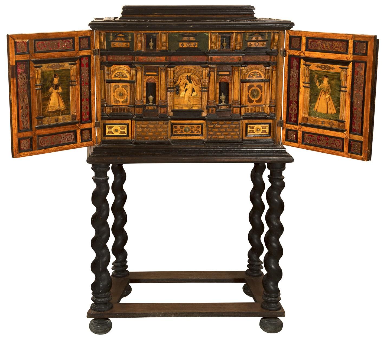 Kabinet, płd. Niemcy lub Śląsk, 1. poł. XVII w. (źródło: materiały prasowe organizatora wystawy)