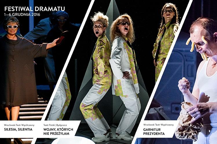 """Festiwal Dramatu"" – plakat (źródło: materiały prasowe organizatora)"
