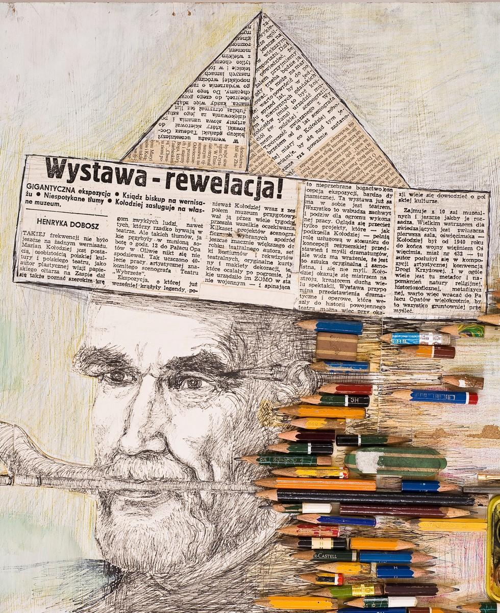 """Marian Kołodziej, """"Autoportret"""" (źródło: materiały prasowe organizatora)"""