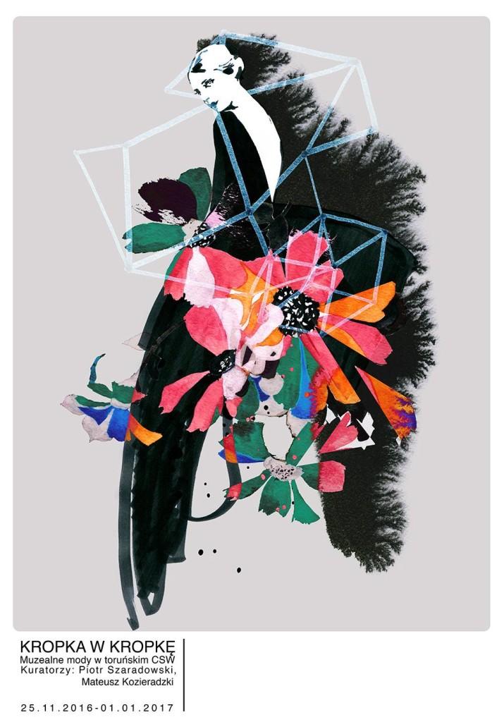 """""""Kropka w kropkę"""" – plakat Anna Halarewicz (źródło: materiały prasowe organizatora)"""
