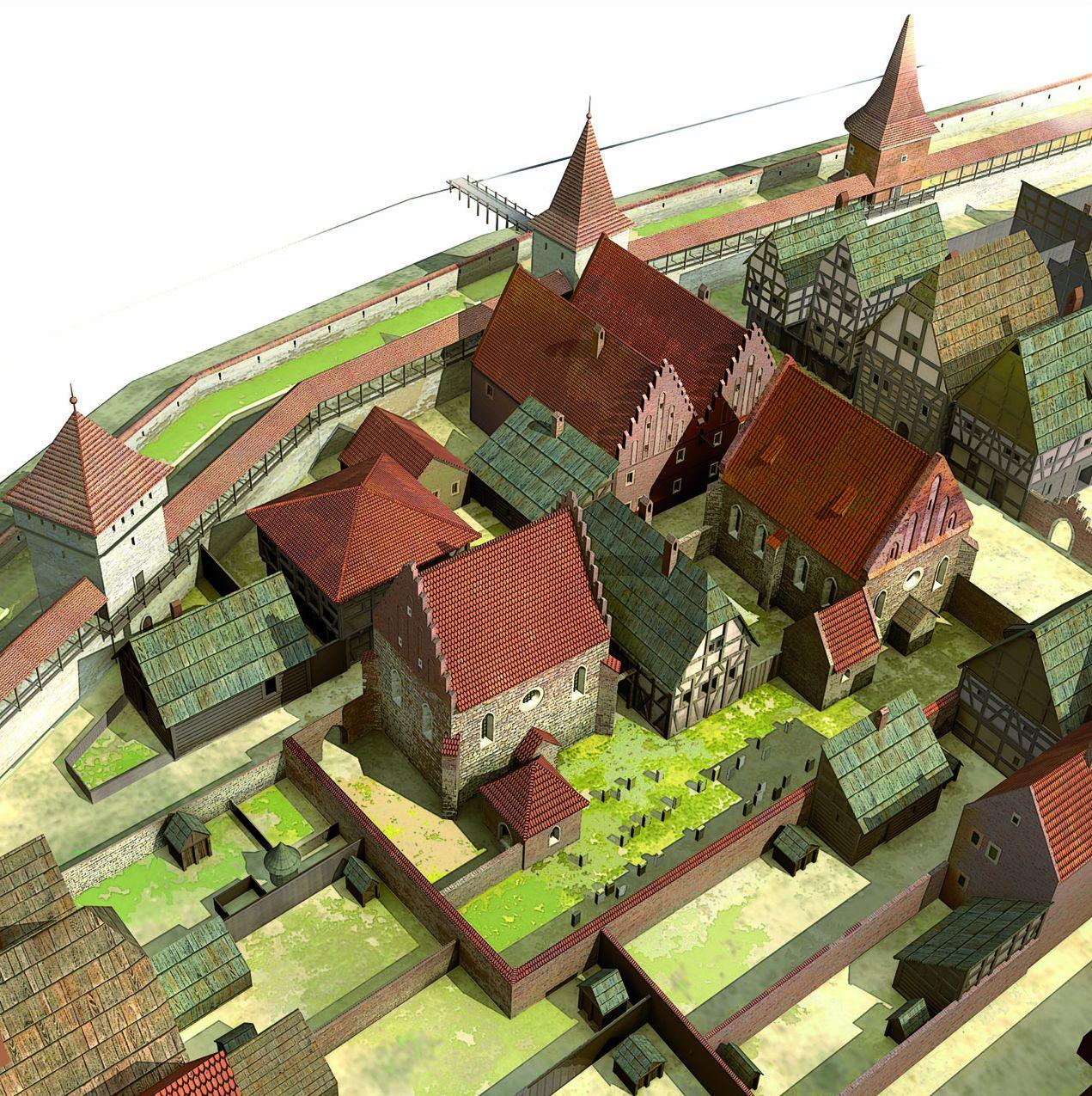 Siedziby żydowskie w Krakowie w XIV i XV w. do 1469 r. (źródło: materiały prasowe organizatora)