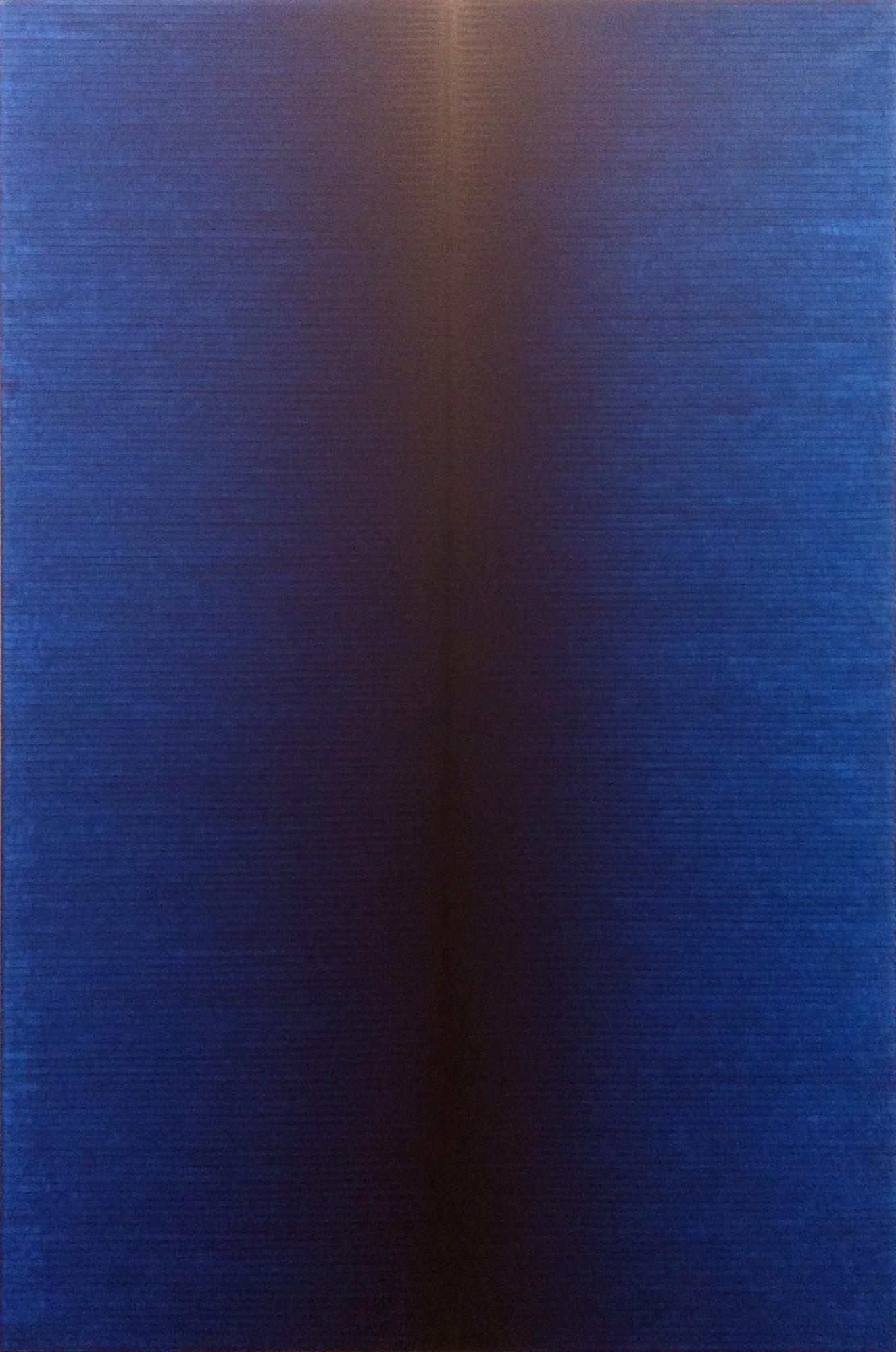 """Irma Blank, """"Radical Writings, Poème quotidien VII, 3-2-1994"""", 1994, Kolekcja Grażyny Kulczyk (źródło: materiały prasowe organizatora wystawy)"""